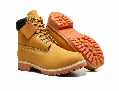 Couple Shoes Boots Heel Waterproof-Boots Big-Size Winter Genuine-Leather Casual 34-46