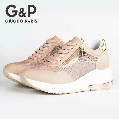 Breathable Shoes Platform Wedge Fashion Sneaker Easy-To-Wear Casual New-Design Women