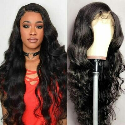 28 30 inch Body Wave 13x4 Lace Front Wigs Pre Plucked With Baby Hair Brazilian Human
