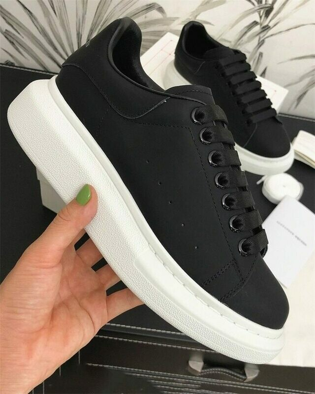 Couple Shoes Sneakers Women Fashion-Trend Luxury-Design New Increased Man