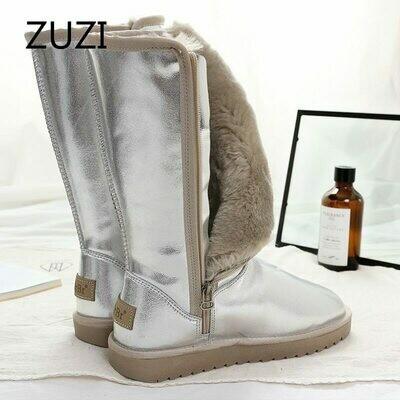 Australia Boots ZUZI High-Quality Women's Fur Long No Winter for Warm Mujer Top