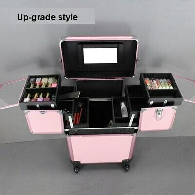 TRAVEL TALE women beauty case make up bag koffer cosmetic box nail bag