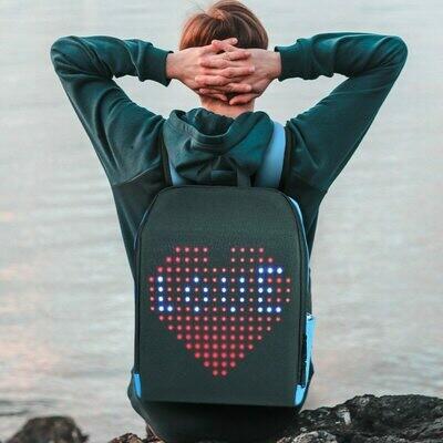 LED Backpack Walking-Billboard Advertising-Light Waterproof with Led-Screen Display Smart-Wifi-Version