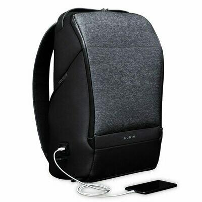 Laptop Backpack School-Bag Teenage-Boys Men for Usb-Charging Korin-Design