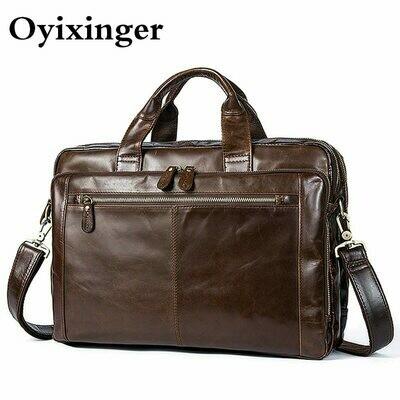 Men Briefcases Laptop-Bags Computer-Document-Bag Office Bag Messenger Macbook OYIXINGER