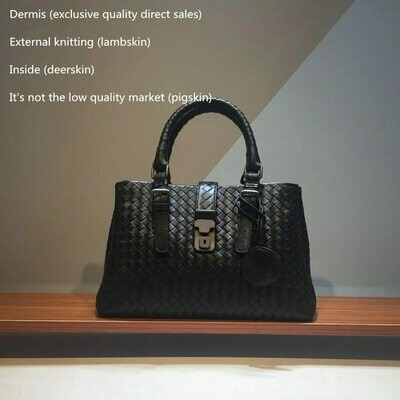 Bag Luxury Handbags Genuine-Leather Shoulder-Bag Women Zhen Sac Main Femmebolsas-Feminina