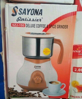 Sayona Deluxe Coffee and Spice Grinder