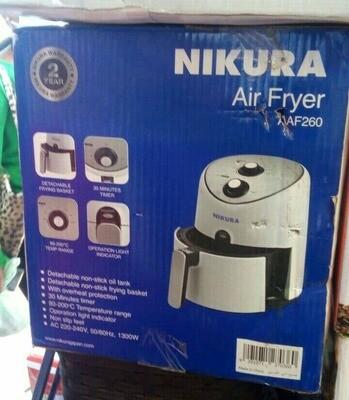 Nikura Air Fryer/ ያለዘይት ችፕስ መጥበሻ