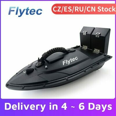 Fishing Bait Boat Ship Speedboat Rc-Toys Remote-Control Flytec 500m