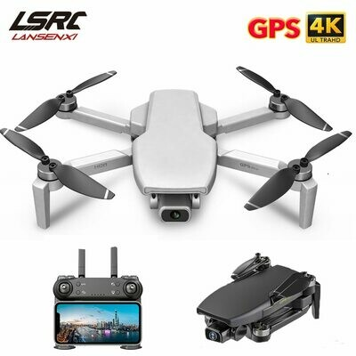 LSRC Mini Drone GPS L108 4K HD 5G WiFi Brushless Motor FPV Dron flying 25 Minutes distance
