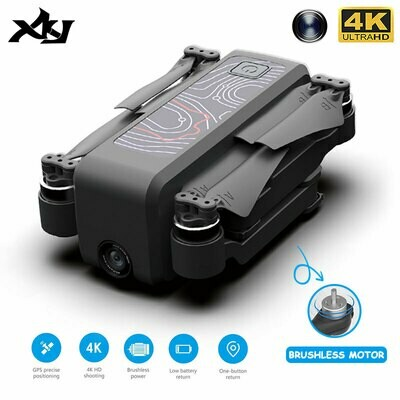 Quadcopter Gps Drone FPV Wifi Professional Icamera2 Brushless XKJ Kids with HD 4K Foldable