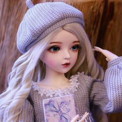 Gifts Doll Clothes-Change-Eyes Handmade Valentine's-Day-Gift Silver Best Girl 60cm