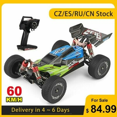 Motor RTR Racing-Car Rc Buggy Off-Road-Drift 4WD 12428 144001 Rc-Car-60km/H Wltoys Xks
