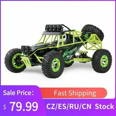 Vehicle Remote-Control-Car Monster Rc Buggy 4WD High-Speed Wltoys 12428 50km/H 1/12