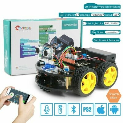 Robotics Cars Learning-Kit Educational-Stem-Toys Arduino-Robot Remote-Control Bluetooth