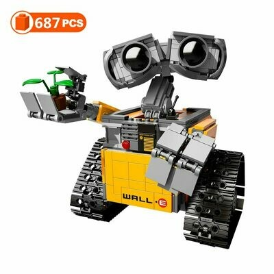 Figures Model Building-Blocks Educational-Toys Lepining Wall-E-The-Robot Idea-Technic