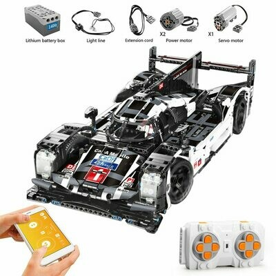 Bricks Kids Toys Building-Blocks Racer Car-Technic Remote-Control-Vehicle Sports Super-Racing