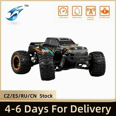 Brushless RC Racing-Car Car-16889a 4WD Linxtech High-Speed 1/16 Big-Foot with 45km/H