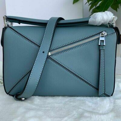 Quality Leather bags women's handbag fashionable brand logo bag luxury designer bag multi functional cross body shoulder bag 24