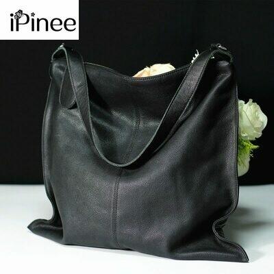 Women Designer Handbag Tote Crossbody-Bags Ipinee Female Genuine-Leather High-Quality