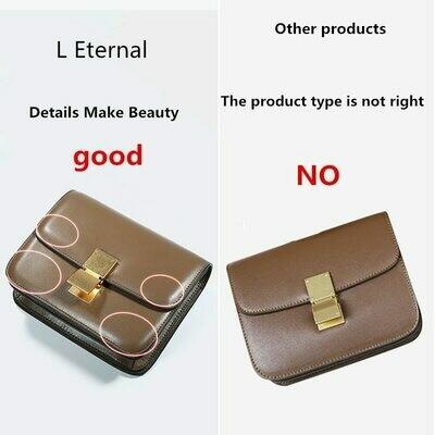 Square Bag Tofu-Bag Single-Shoulder-Bag Small New-Pattern Genuine-Leather Woman Diagonal