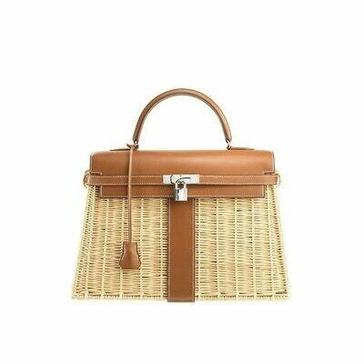 Flap Handbag Totes-Bags Bamboo Crossbody Main Travel Womens Fashion Bag Brand Sac Beach