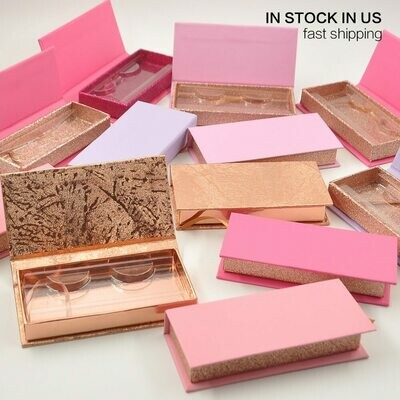 Box Package Storage-Case Lash-Boxes Vendors Custom Wholesale in Cils 3d Stock Caux
