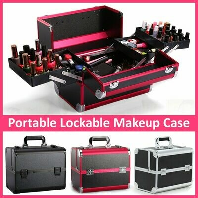 Suitcases Cosmetic-Bag Manicure-Cosmetology-Case Professional Portable Travel Large-Capacity