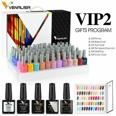 Nail-Polish-Kit Whole-Set Nail-Art-Design Venalisa Learner-Kit Vernish 60-Color Enamel