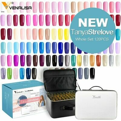 Gel-Polish Whole-Set Nail-Gel-Enamel-Kit Nail-Art-Design Venalisa Color for 12ml/7.5ml