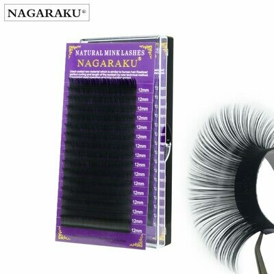 Eyelash-Extension NAGARAKU Whole-Sale Mink Price Possible 500cases/Set Is OEM 16rows
