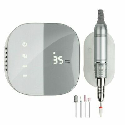 Manicure-Pen Lathe-Sander Electric-Nail-Drill-Machine Professional 35000-Rpm Metal HD
