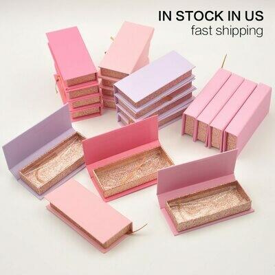 Packaging-Box Lash-Boxes Magnetic-Case Mink-Lashes-Strip Vendors False-Eyelash Faux-Cils