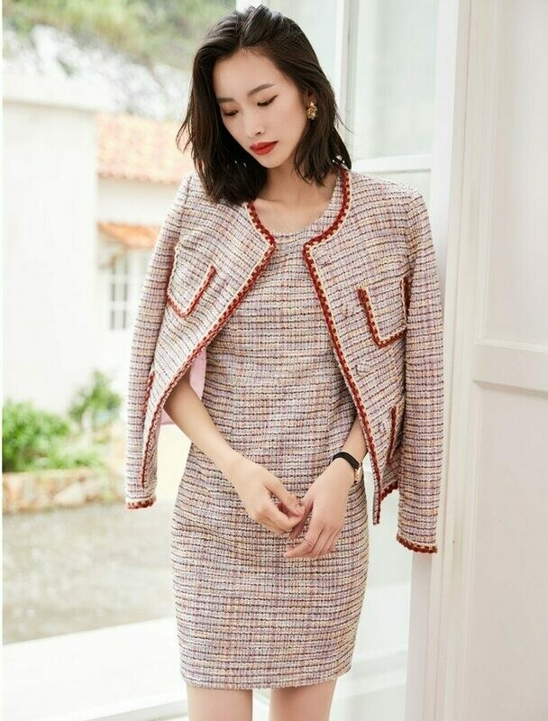 Business-Suits Office-Uniform Blazers Women Ladies Winter Fall Styles Professional Career