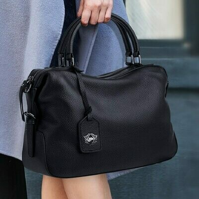 Handbags Women Purses Skin-Shoulder-Bag Zooler-Designer Winter Genuine-Leather Brand