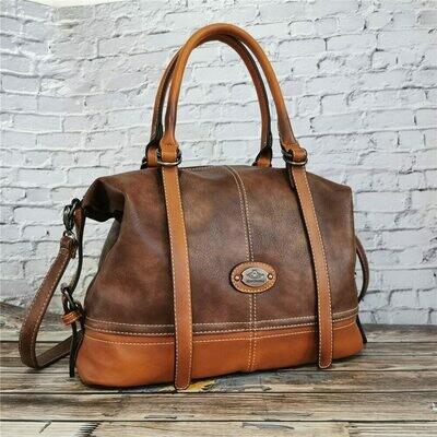 Vintage Handbag Totes Bolsa Bags For Shoulder Travel Large-Capacity Designer Women Lady's