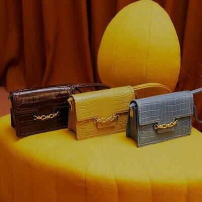 Crocodile Handbags Messenger-Bag LAFESTIN Fashion New