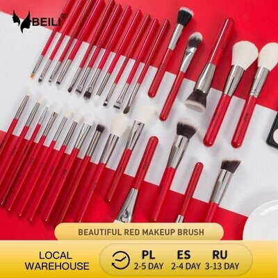 Makeup-Brushes-Set Blush Foundation Eyeshadow Blending-Powder Eyebrow Professional BEILI