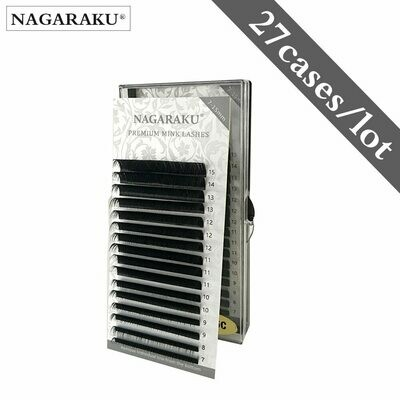 Individual Eyelash Mink-Lashes-Makeup NAGARAKU High-Quality Natural Synthetic Maquiagem