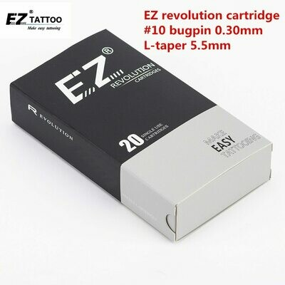 Tattoo-Needles Cartridge EZ Round-Liner Revolution 20pcs/Lot RC1003RL