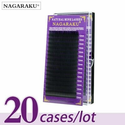 Faux-Mink-Lashes Makeup NAGARAKU Natural Premium 20-Cases/Lot Soft High-Quality