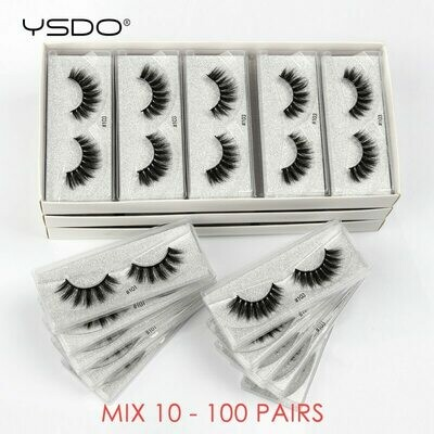 Wholesale Eyelashes Makeup Natural In-Bulk Cilios Thick 20/30/40-/..