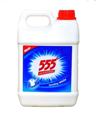 555 የልብስ ፈሳሽ ሳሙና   555 Liquid Laundry Detergent (Ethiopia Only)