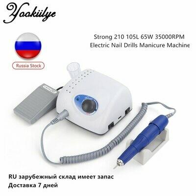 Machine-Model Nail-File-Bit Manicure-Machine Polish Electric-Nail-Drill 105L Strong 210
