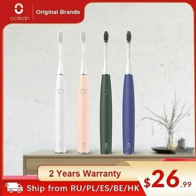 Sonic Electric Toothbrush Oclean 3-Brushing-Modes Fast-Charging Ipx7 Waterproof Adult
