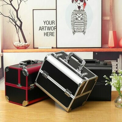 Suitcases Cosmetic-Bag Manicure-Cosmetology-Case Travel Professional Large-Capacity Portable