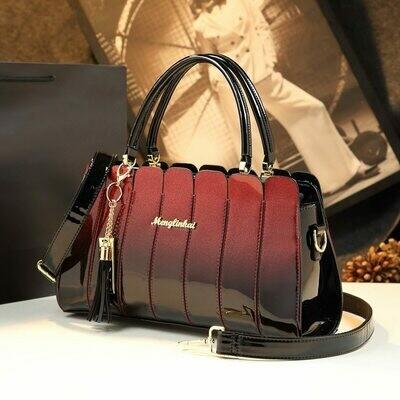 Handbag Women Tote Crossbody-Bags High-Quality Patent Messenger-Bag Fashion Casual Ladies