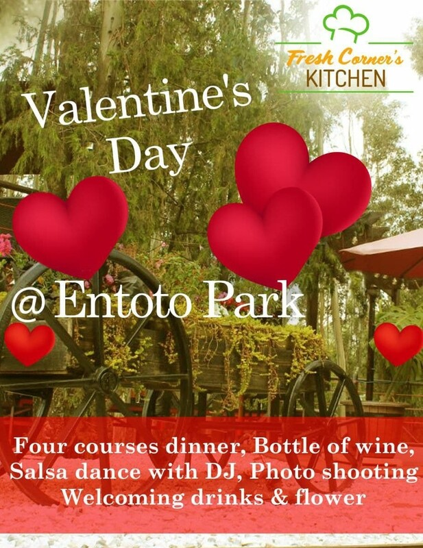VALENTINE'S DAY Dinner Salsa dance package for couples