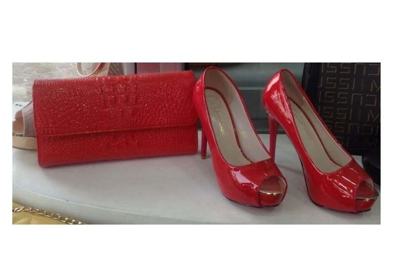 የሴቶች ዘመናዊ ጫማ እና ቦርሳ  ( Modern Ladies Shoes And Bag ) (Ethiopia only)