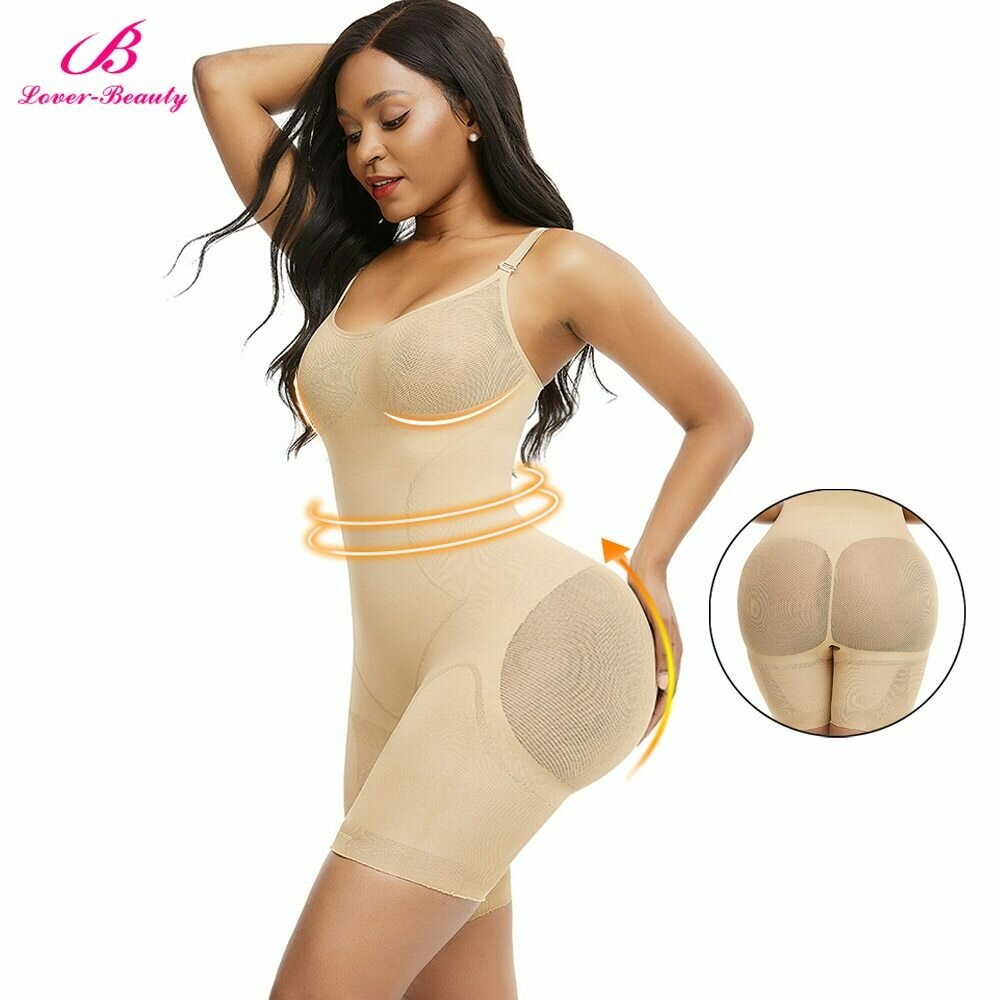 Seamless Full Body Shaper Tummy Control Panties Push Up Breathable Slimming Shapewear Women Corset Waist Trainer Butt lifter